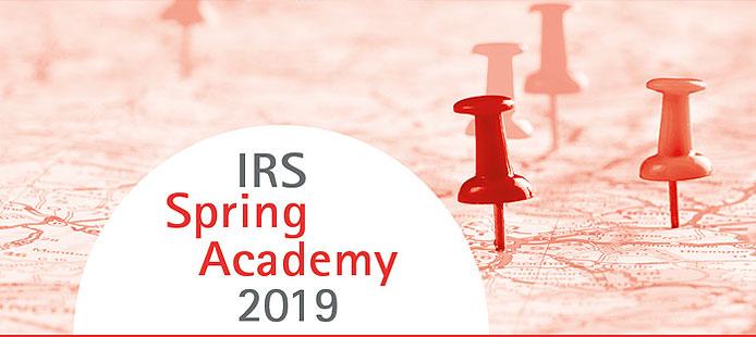 IRS Spring Academy 2019 | Leibniz-Institut für Raumbezogene